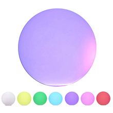 LED Outdoor Waterproof Light Ball Multicolor Remote Cordless Night Lights  Control Rechargeable Pool Floating Orb free shipping waterproof led 25cm round ball light luminous colorful globe night light remote control light for indoor outdoor