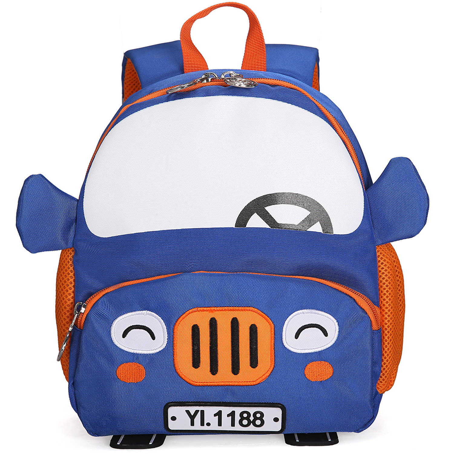 NIBESSER 3D Cartoon Car Backpacks 2-5 Years Children Fashion Cute Kindergarten Kids School Bags Boy Schoolbag Mochila Escolar(China)
