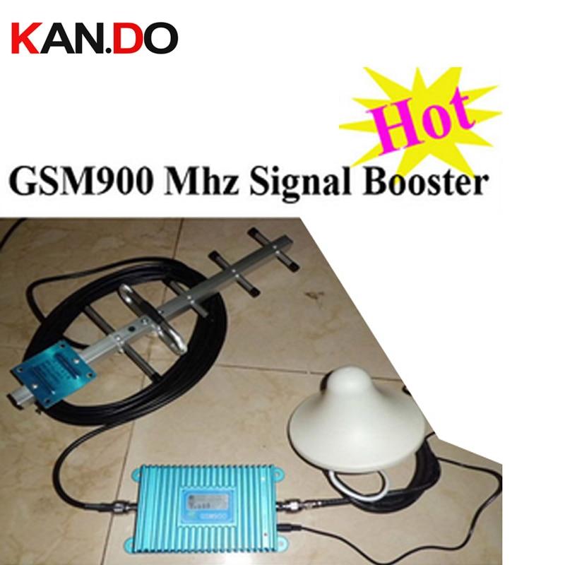 Amplificateur de Booster de Signal de téléphone portable d'affichage à cristaux liquides de haute qualité de vente chaude, répéteur de Signal de GSM, amplificateur de propulseur de 900 mhz en gros