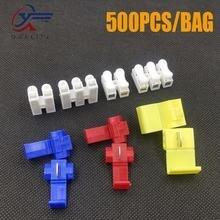 500 шт блокировочный провод соединитель электрического кабеля