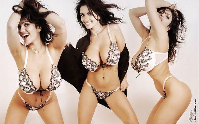 Denise milani hot bikini