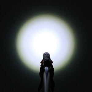Image 5 - Kit SF32, lampe torche Portable avec 5 modes, batterie et chargeur, Cree XML T6 lampe de poche LED lumens, 18650 400 lumens