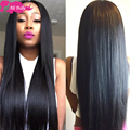 7a Brazillian Hair With Closure Short Straight Weave With Closure Virgin Brazilian Straight Hair With Closure Best Selling