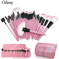 Big 32PCS Makeup Brushes Sets Complete Pro Pink Cosmetic Make Up Powder Foundation Eyebrow Eyeliner Blushes