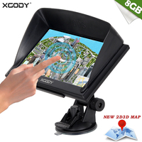 Xgody 7 Inch Gps Car Gps Navigator 703 128m 8gb Capacitive Screen Fm Navigation Russia Navitel