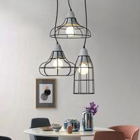 Retro Simple Hanging Lights Creative Corridor Cement pendant lamp Bedroom Restaurant modern led pendant kitchen light Lighting