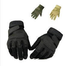 Herren CS Jagd Handschuhe Outdoor Military Tactical Fitness Spezielle Kräfte Polizei Gym Training Handschuhe Volle Finger Hunter Handschuhe(China)