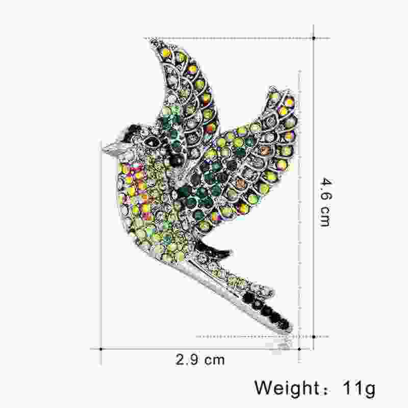 Newest Natural Animals Jewelry Brooch Pins Bee Dragonfly Insect Parrot Bird Beetle Brooches For Women Costume Brooch Pins Gift