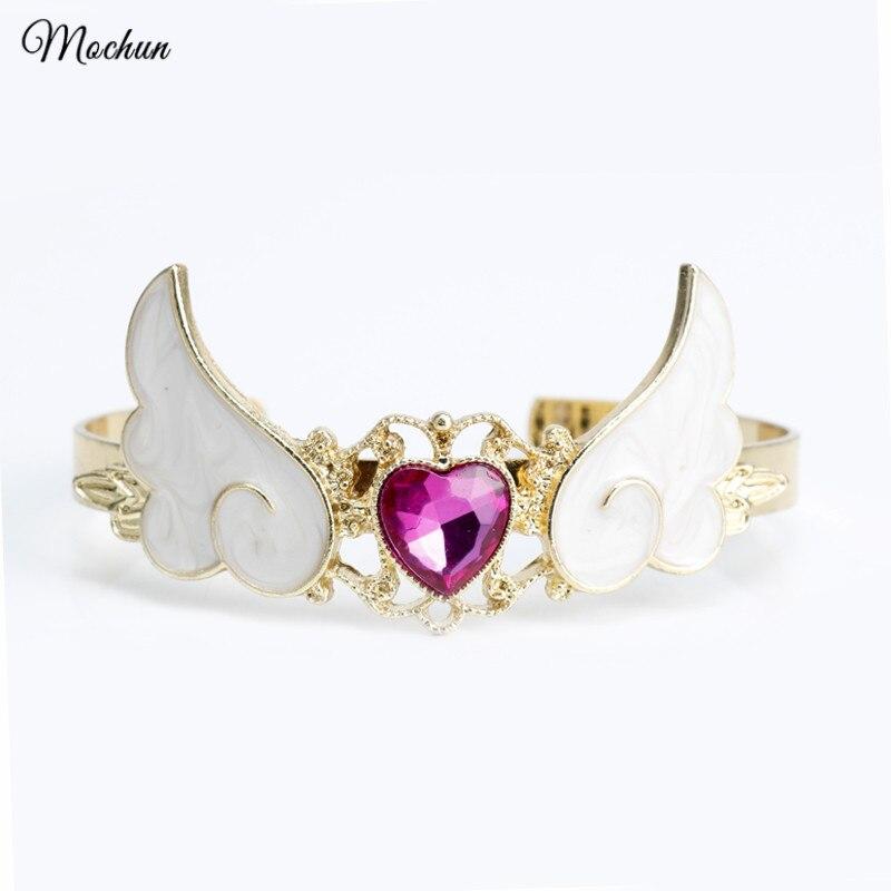 Armreifen Vornehm Mqchun Card Captor Sakura Sterne Zauberstab Stulpearmband Wings Armband Für Frauen Mädchen Sailor Moon Nachfrage üBer Dem Angebot