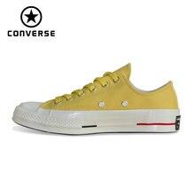 Converse Оригинальные кроссовки 1970 S ретро версия все стильная обувь классический унисекс для мужчин и женщин; обувь для скейтборда, кроссовки 160494C