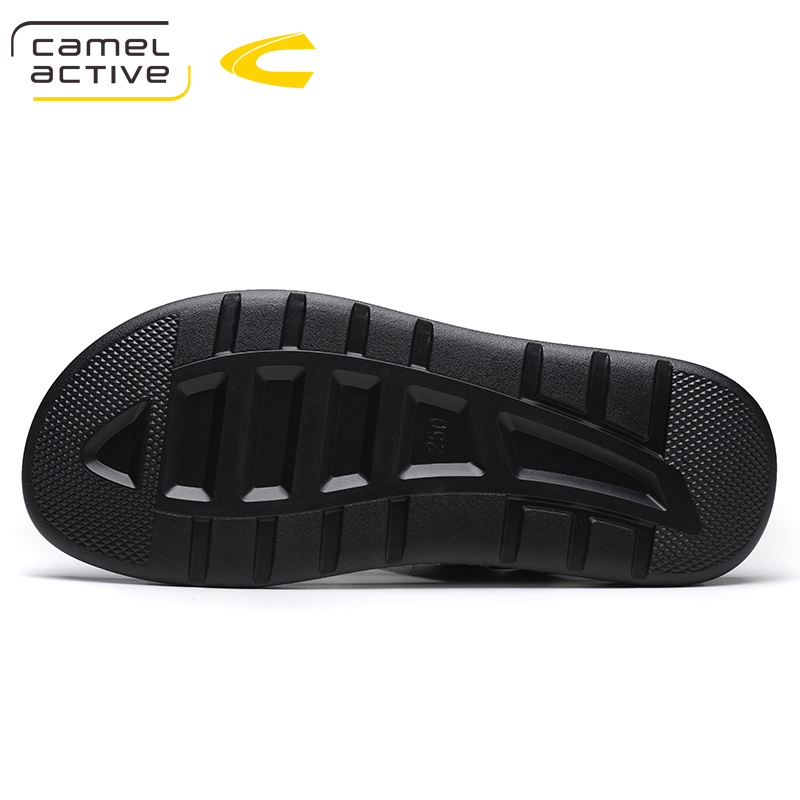 Camel Active Summer Quality PU Leather Male Shoes For Men Sandals Adult Brand Casual Walking Comfortable Designer Sandals Man