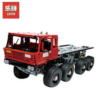 Новый Лепин 23012 2839 шт. натуральная дизайн серии Аракава Moc эвакуатор Tatra 813 развивающие строительные блоки кирпичи игрушки