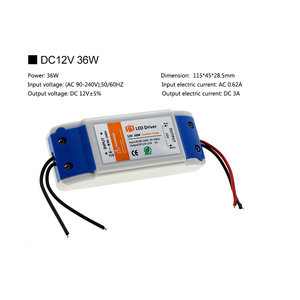 Image 4 - Led照明トランスフォーマーDC12V 18ワット36ワット72ワット100ワット高品質安全ドライバledストリップ電源供給