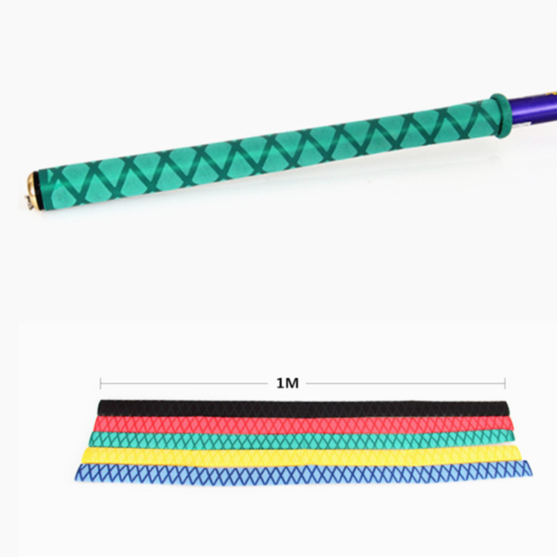 2pcs Tubing X-Tube Heat Shrink Wrap Tubing Fishing Rod Handle Wrap 20mm