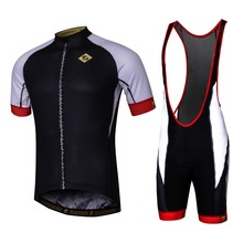 Summer Cycling Jersey Short Sleeve Set  Italian cuffs MTB/Ropa Bicycle Breathable Dry Men's Cycling Sport Jersey ropa ciclismo