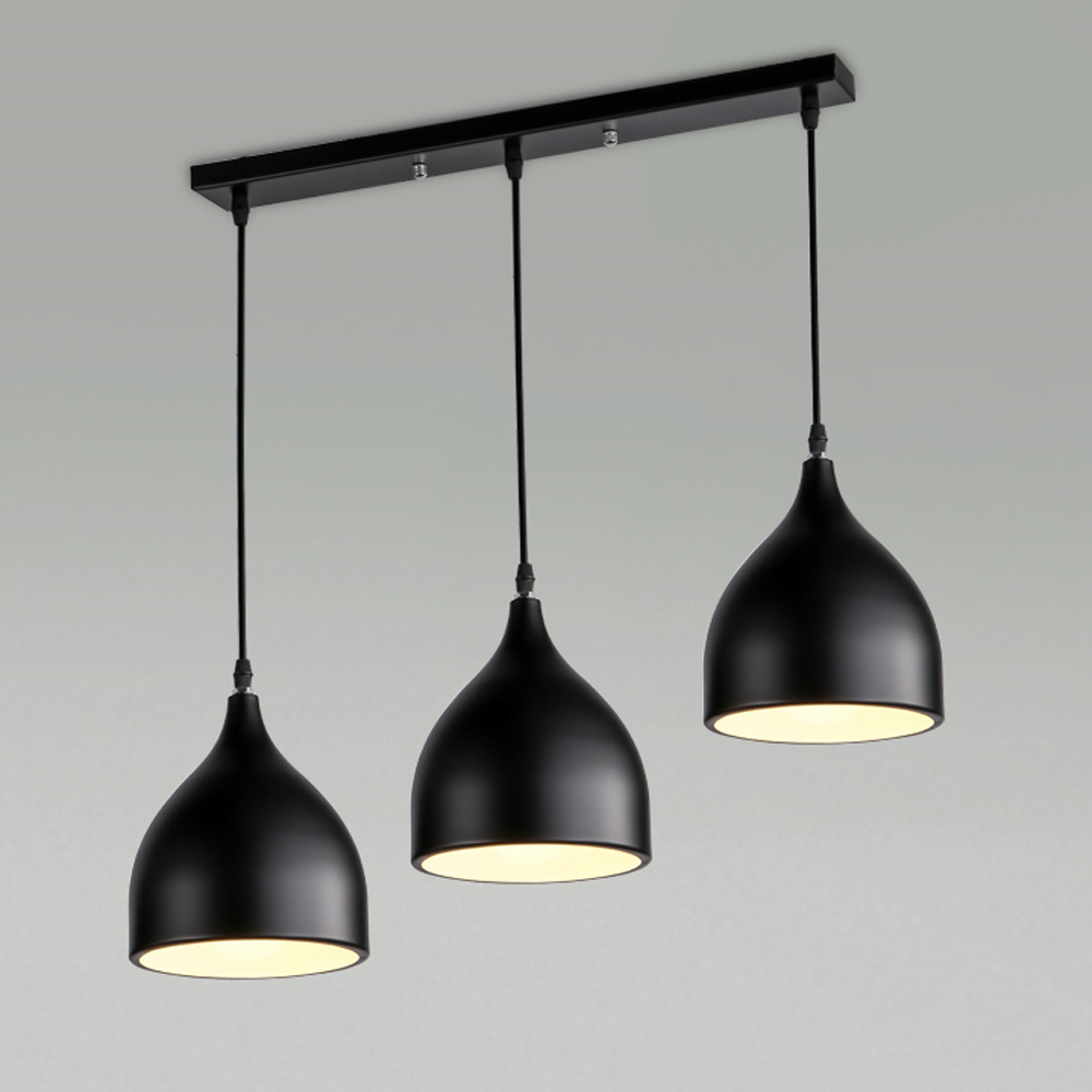 Modern LED Pendant Light Kitchen Suspension Vintage