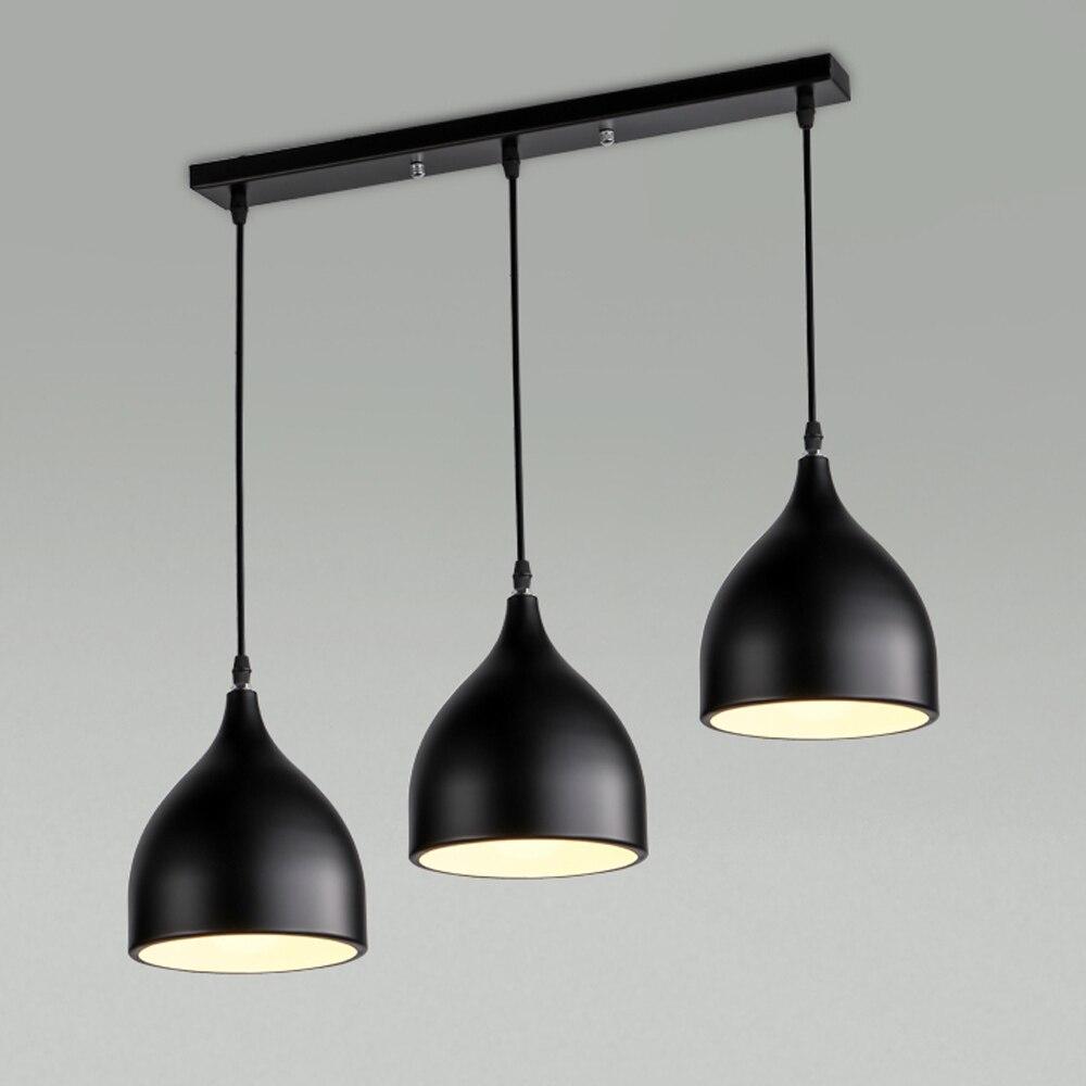 Modern Pendant Lights Kitchen Suspension Pendant Lamp Nordic Russia Black White Hanging Lamp Lustres Dining Lighting Luminaria