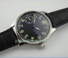 44mm PARNIS ST3600/6497 Mécanique Main Vent mouvement Mécanique montres hommes lumineux de montres en gros o27