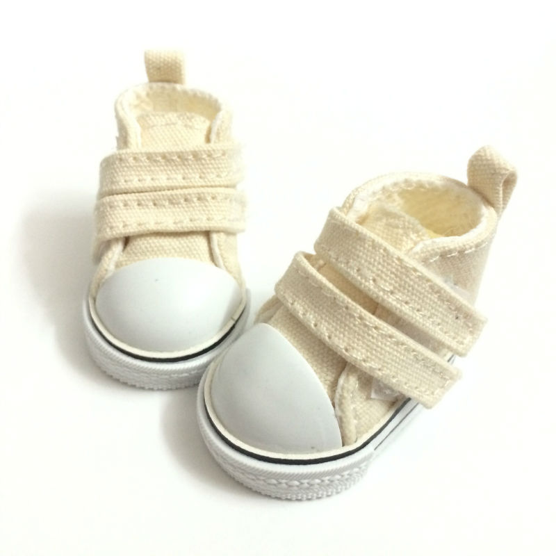 1/6 BJD Doll Shoes Causal Snickers Shoes for BJD Dolls,5 CM Mini Doll Boots 1/6 Scale Accessories for BJD Dolls 12 Pair/Lot