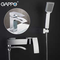 GAPPO robinets de baignoire mitigeur de baignoire robinet de douche mitigeur de lavabo robinet évier d'eau robinet baignoire