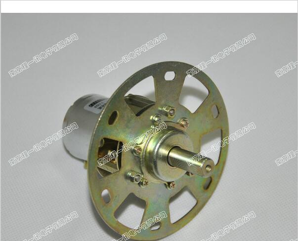Moteur à engrenages 12 v 1 RPM/min Dc   Moteur de réduction dengrenages métalliques/xj