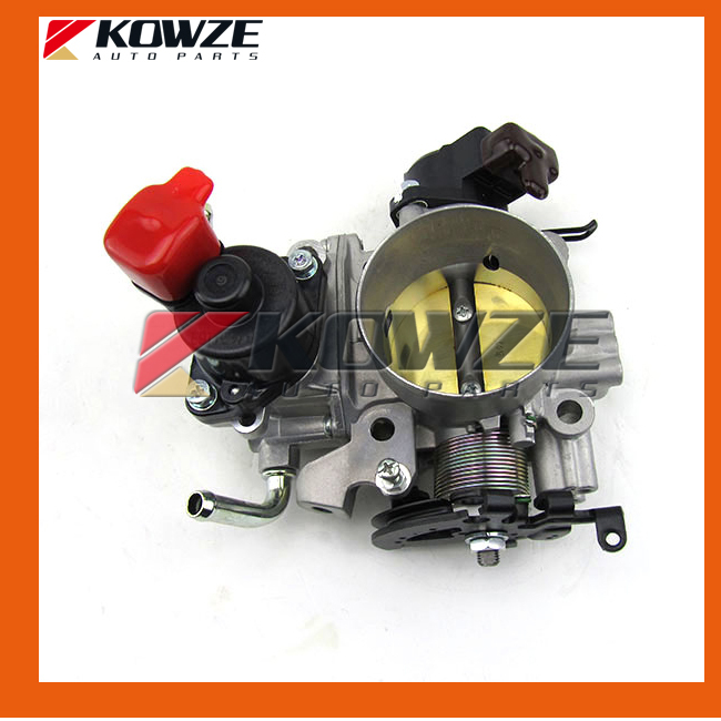 Throttle Body Assembly for Mitsubishi Pajero Montero Sport Challanger Nativa V6 6G72 24 Valves MD315088 цена 2017