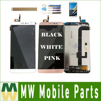 1PC/Lot 5.5inch For Cubot Note S LCD Display+Touch Screen Assembly Replacement Part Black White Gold Rose Gold with kit