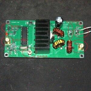 Image 1 - 1 шт. 10 Вт 5 9 Мгц QRP радиопередатчик CW высокочастотный комплект усилителя мощности