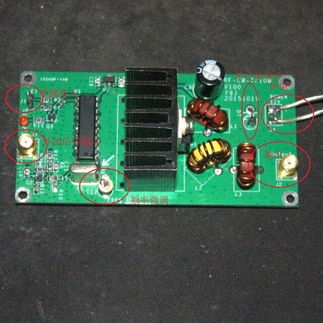 1 шт. 10 Вт 5 9 Мгц QRP радиопередатчик CW высокочастотный комплект усилителя мощности