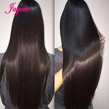 Brazylijskie wiązki splecionych prostych włosów z zamknięciem włosy brazylijskie proste wiązki doczepy z ludzkich włosów Tissage Cheveux Humain