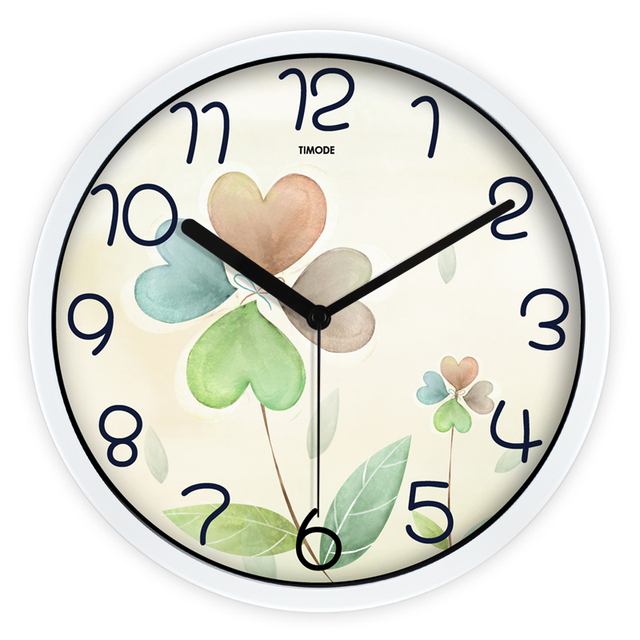 Large Decorative Wall Clocks Non Ticking Silent Clock Montre Murale Saati  Reloj De Cocina Retro Wall