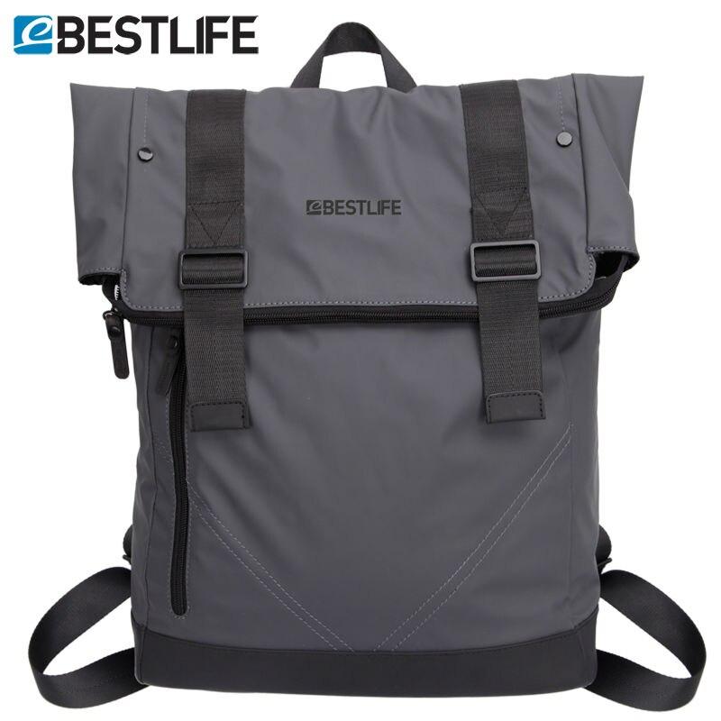 BESTLIFE 2016 Fashion Cool font b Backpack b font Male Motorcycle City Street Bags font b
