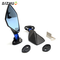 Universal Motorcycle Accessories Mirrors Scooter Parts Moto Rearview Mirrors For SUZUKI GSXR 600 750 1000 GSR 600 750 bandit 600