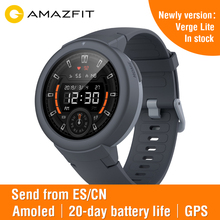Huami Amazfit Verge LITE SPORT สมาร์ทนาฬิกา Global VersionOn BOARD เพลงรับสายข้อความ PUSH Heart Rate Monitor