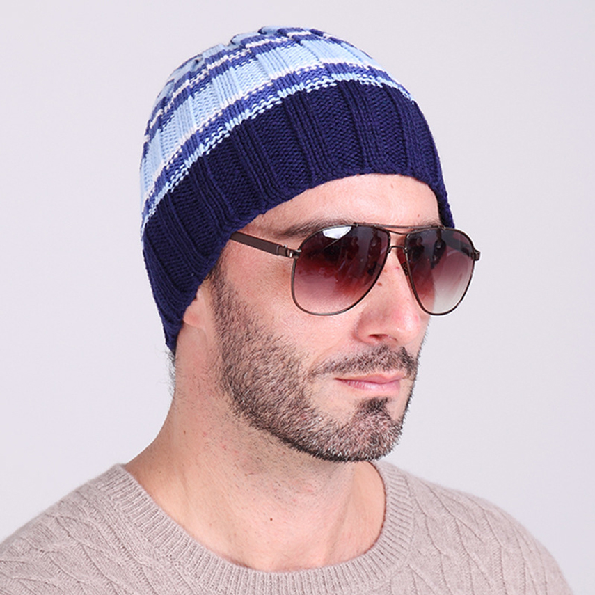 Autumn And Winter Man Hats Slouchy Beanie Hat Crochet Pattern Winter