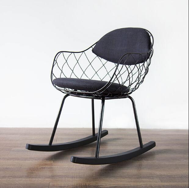 Latest Dining Chairs: YINGYI New Arrival Metal Dining Chair With Arms Free