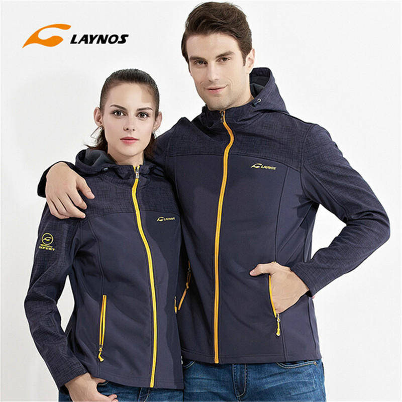 Free Shipping-New Laynos Hot Sale Lover Autumn/Winter Outdoor sport Warm Wind/waterproof Soft Fleece Clothing Jacket 161F367A