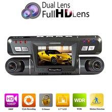 Cheap price B80 Dual Lens Auto Car DVR Video Camera Recorder NTK96655 Dashcam Full HD 1080P 170 Degree + 120 Degree Dash Cam