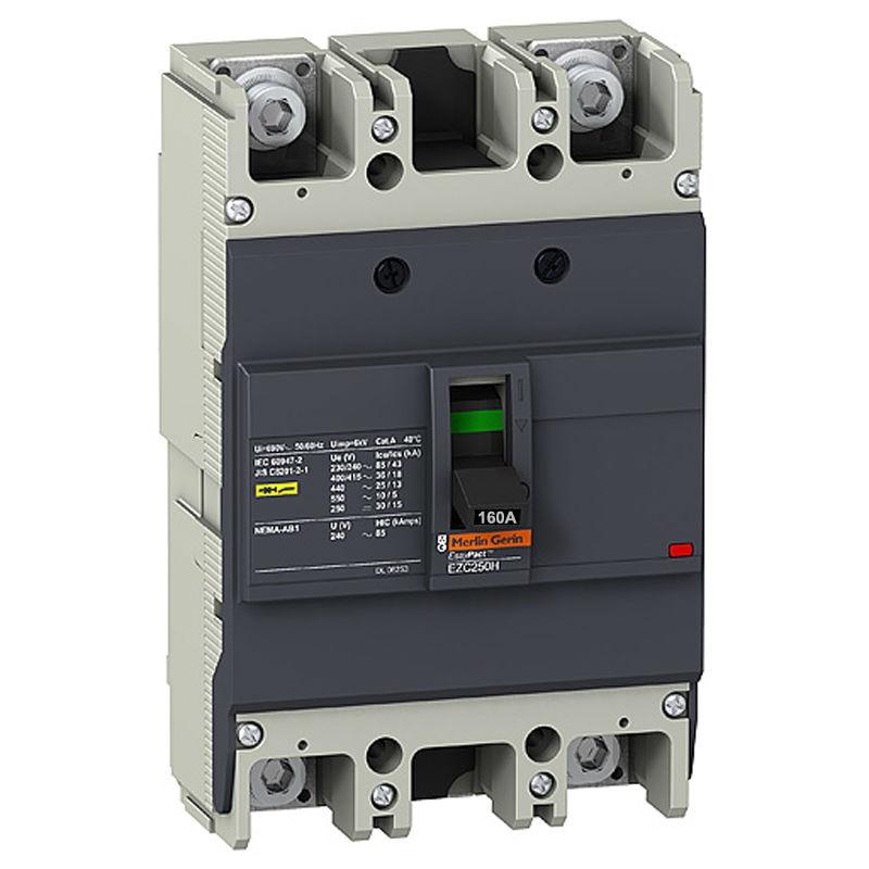 ФОТО EZC250H2160 Circuit Breaker Easypact EZC250H 2P 160A 36KA 220/240V