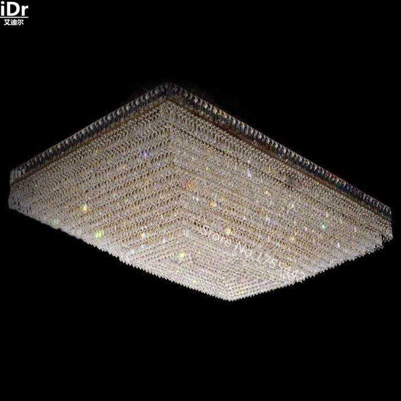 upscale atmosphere hotel lobby lamp bedroom lamp crystal lamps gold ceiling lights flush mountedchina cheap ceiling lighting