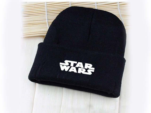 2471795f7 US $3.5 |Giancomics Hot Star Wars Undertale Anime Cartoon Pattern Hat Cap  Beanie Knitted Cotton Unisex Fashion Winter Cosplay Otaku Gift-in Boys ...
