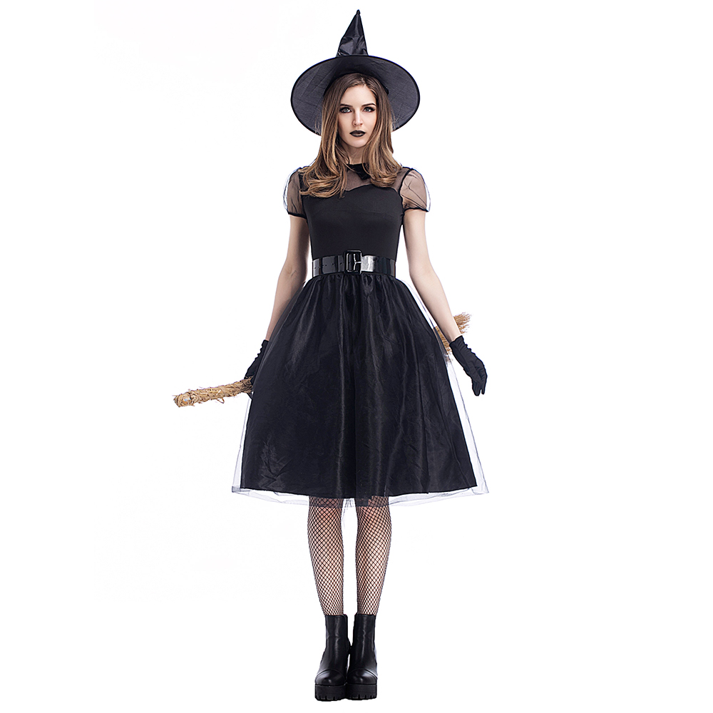 Aliexpresscom  Buy High Quality Girls Adults Halloween Costumes Witch Womens Crape -1916
