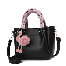 2019 Fashionable Casual New Arrival PU Leather Womens Bag High Quality Composite Handbag Hot Sale Party Purse