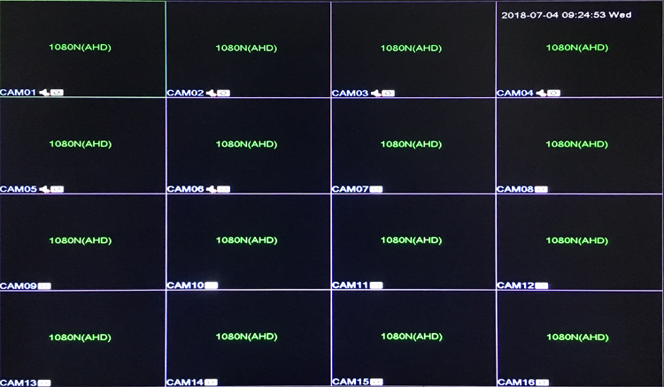 1080P 2mp CCTV Camera XMeye Hi3521A 16 Channel 16CH 1080N 6 in 1 Hybrid Wifi XVI TVi CVI NVR AHD DVR Surveillance Video Recorder menu picture 01