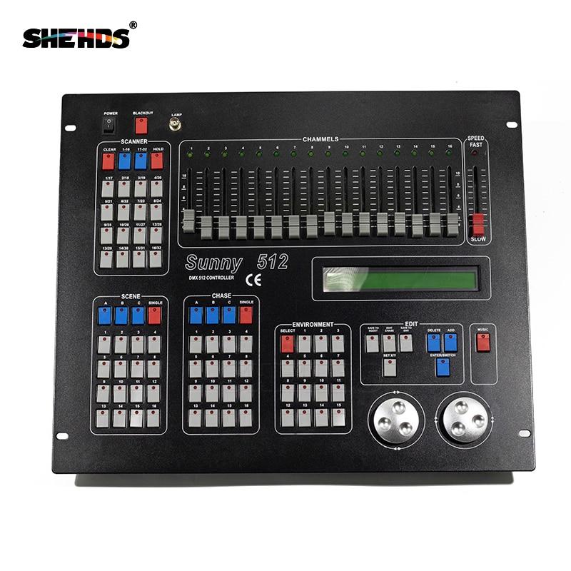 2560 DMX Console ensoleillé 512 DMX512 contrôleur King 1024 Kong scène DJ lumière tête mobile Par lumière projecteurs 192 Console 384 240A