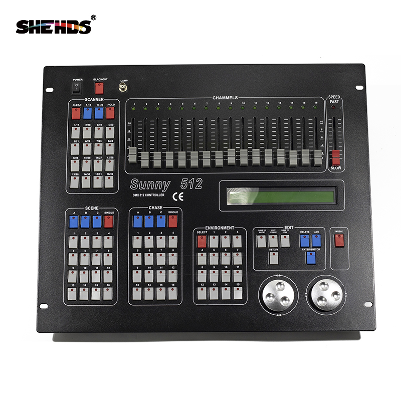 2560 DMX Console Sunny 512 DMX512 Controller King 1024 Kong Stage DJ Light Moving Head Par Light Spotlights 192 Console 384 240A
