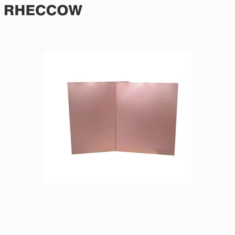 4x2.7 inch ZIIDOO 15 Pcs Copper Clad Laminate PCB,FR4 Circuit Prototype Board,Single Sided DIY Prototyping PCB Board