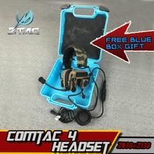 Z-TAC comtac IV Arsoft Ipsc Z TAC Headset Tactical Headphones Hunting Air Gun Peltor PTT Kenwood Midland Earphone For Shooting цена