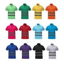 532b99f78 Hi vis camiseta de trabajo de seguridad ropa de trabajo secado fit Camiseta  de manga corta
