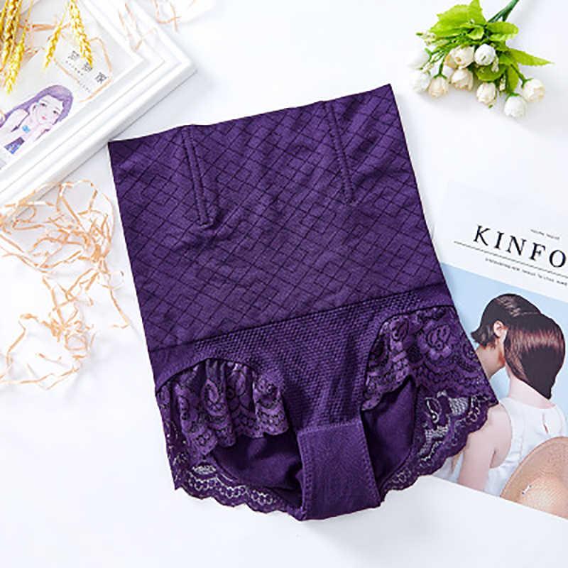 Kualitas tinggi tinggi pinggang perut celana pinggang Tinggi perut celana wanita celana Postpartum tubuh membentuk celana pinggul ramping tubuh pinggang